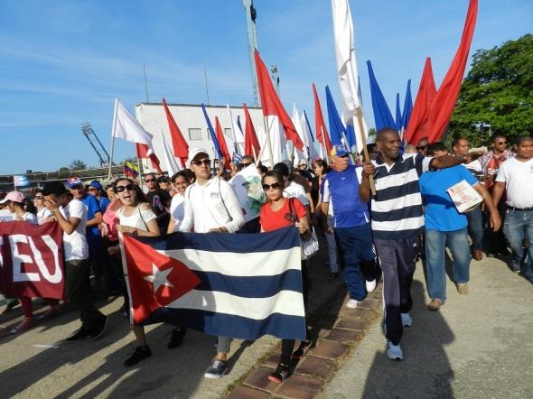 1ro de Mayo en Camagüey, Cuba. Fto Lázaro D. Najarro Pujol (2)