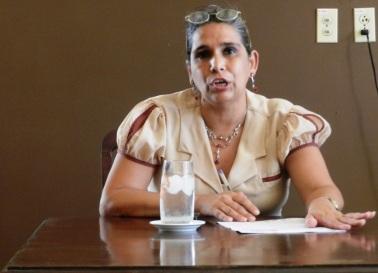 Bárbara Oliva García, directora de la Casa de la Diversidad Cultural camagüeyana