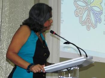 Bárbara Oliva García, directora de la Casa de la Diversidad Cultural de Camagüey