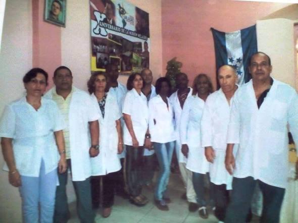 Brigada Medica Cubana en Honduras