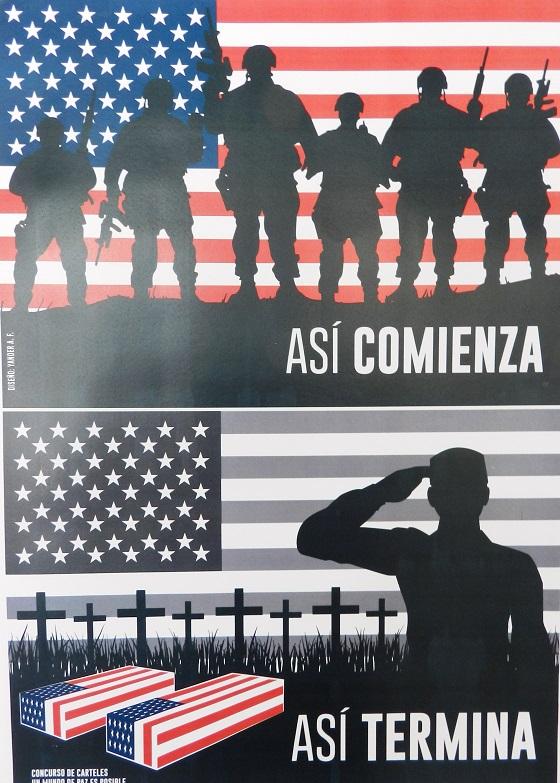 Colección de carteles en Camagüey (1)