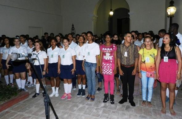 Delegados al tercer Encuentro Nacional de Escuelas Pedagógicas visitaron anoche el Museo