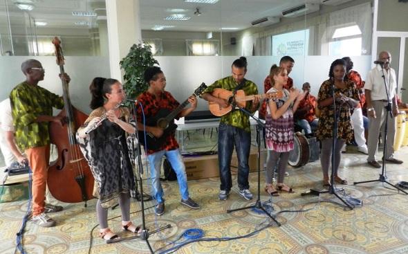 Durante los cinco días de secciones y acciones culturales los asistentes profundizaron en torno a las fiestas tradicionales populares y celebraciones