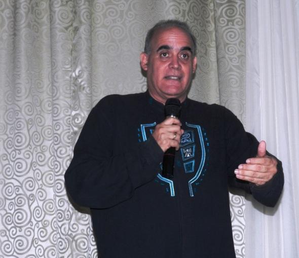 El investigador Rafael Lara González, dicto una conferencia sobre las principales fiestas populares tradicionales y sus portadores en Cuba