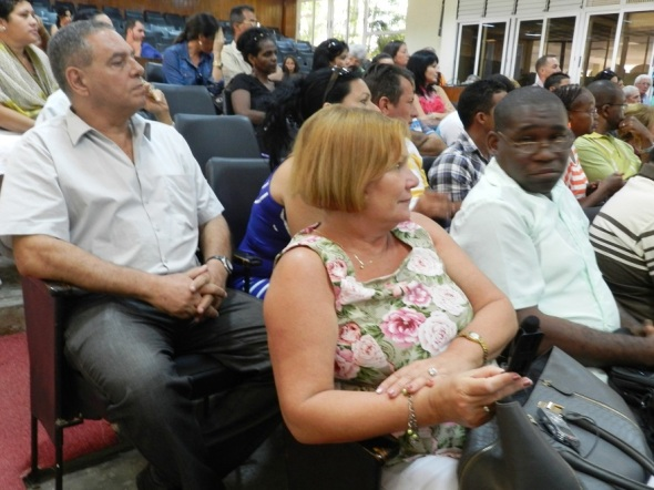 Encuentro con miembros de la Unión de Periodistas de Cuba en Camagüey