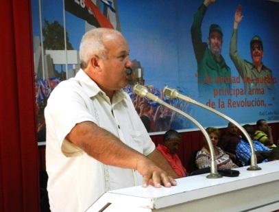 Jorge Luis Tapia Fonseca, miembro del Comité Central del Partido Comunista de Cuba