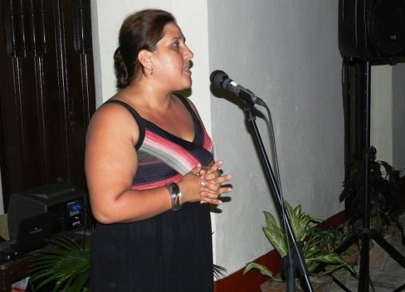 La directora de la institución