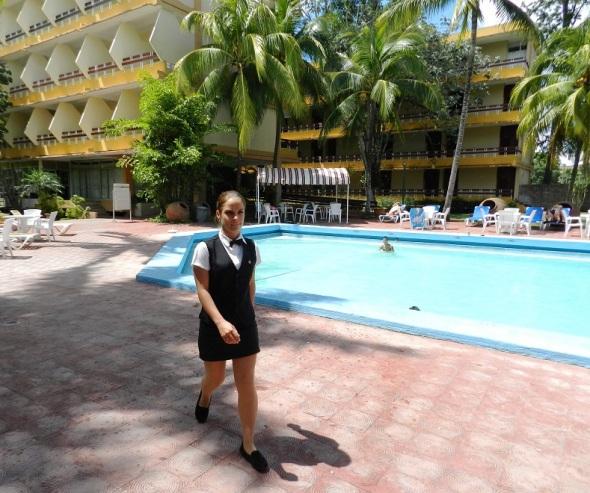 Los jovenes son mayoria en el Hotel Camagüey, Cuba