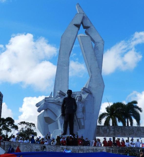 Mayor Gneral Ignacio Agramonte en la Plaza que lleva su nombre en Camagüey, Cuba