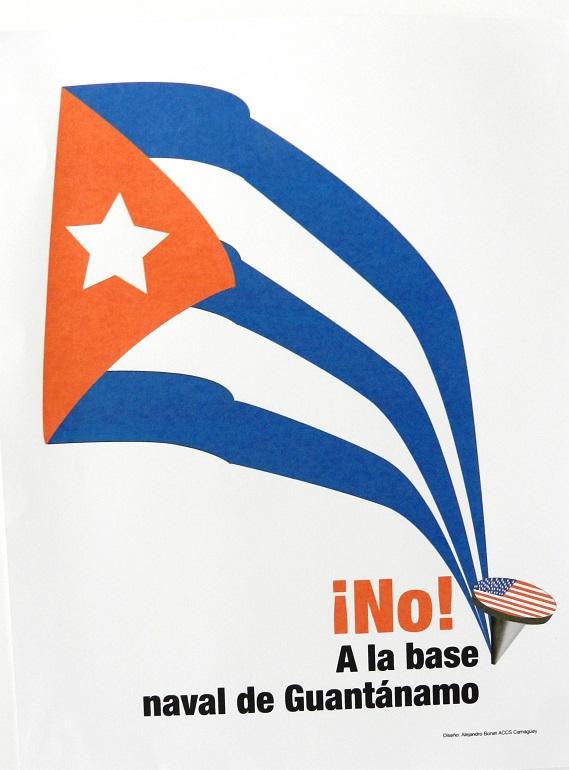 """¡No! A la base naval de Guantánamo"", de Alejandro Bonet Piñón."