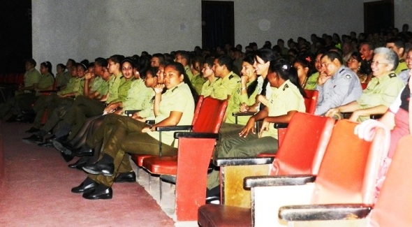 Acudieron soldados, y oficiales del MININT