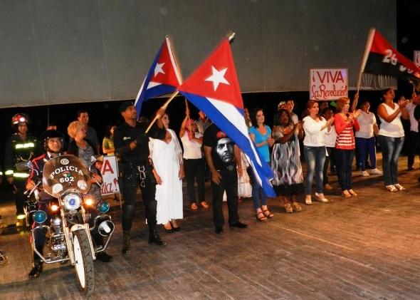 Gala Artística Cultural como parte de la celebración del aniversario 55 de la fundación del Ministerio del Interior