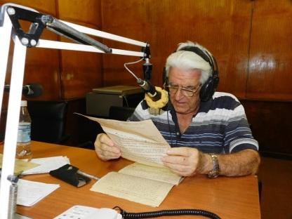 José Luis Cadenas fundador de la emisora Radio Cadena Agramonte. Foto Lázaro David Najarro