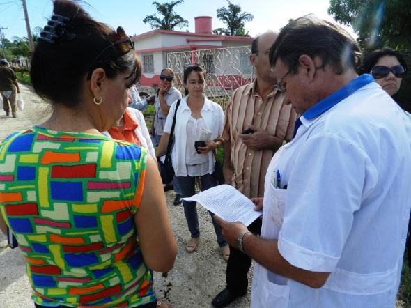 Néstor Navarro  explicó que en la pesquisa del policlínico de la comunidad se detectó un caso febril