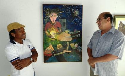Rodrick Dixon y Juan Carlos Mejía Ruiz
