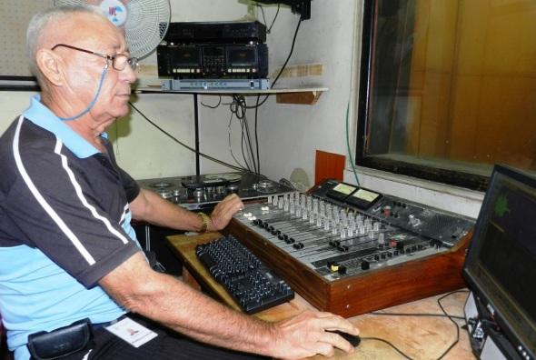 Silverio Martí ha traajado junto a Cadenas durante más de cuatro décadas. Foto Lázaro David Najarro