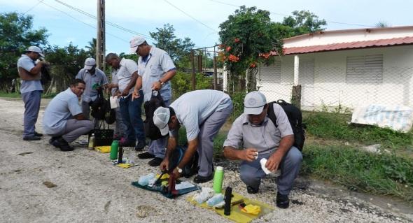 Trabajadores de Vigilancia y Lucha Antivectorial
