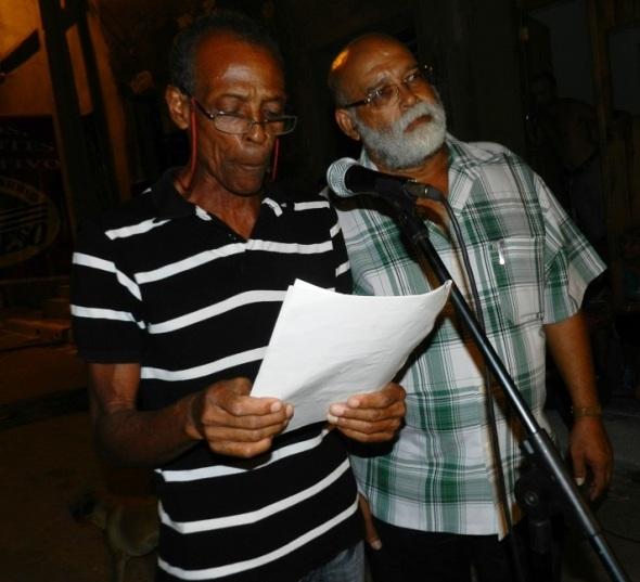 Amigos de la isla de Martinica intercambiaron en un ambiente cultural con integrantes de los Comités de Defensa de la Revolución de la ciudad de Camagüey