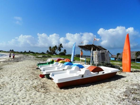 Area de recreación en Campismo Punta de Ganado,