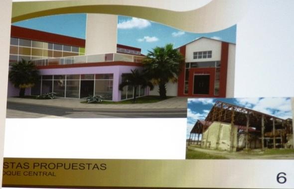 Bloque Central futuro Recinto ferial Camagüey