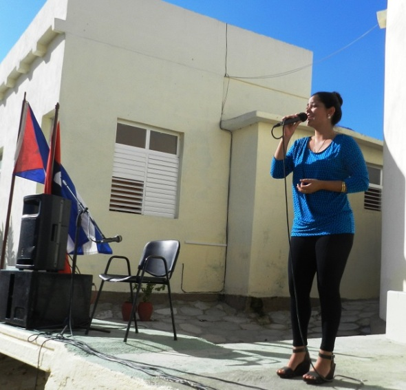 Entre canciones, poesías patrióticas, danzas y otras actividades artísticas y culturales transcurió el acto por el 26 de julio