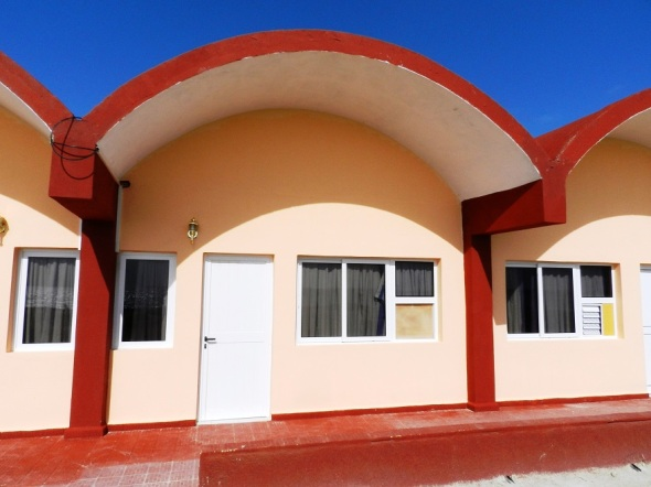 Exterior cabaña Playa Santa Lucía