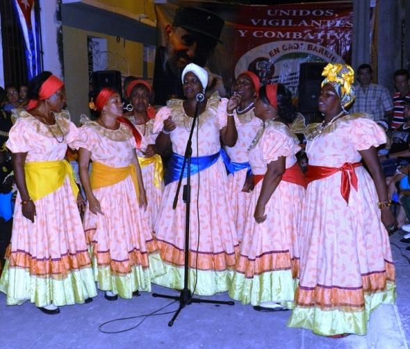 Interpretes de Bonito Patuá. Foto Lázaro David Najarro Pujol