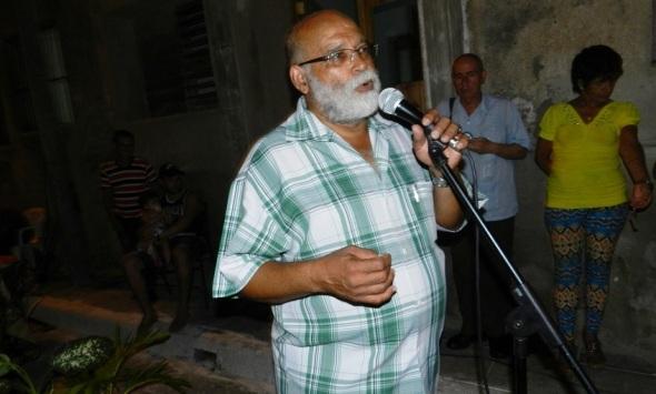Presidente del Comité Martiniqueño de Solidaridad con Cuba, Jean Pierre Etilié.Foto Lázaro David Najarro Pujol