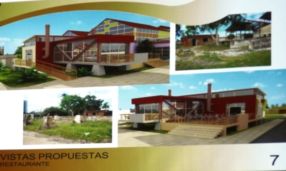 Restaurante futuro Recinto ferial Camagüey