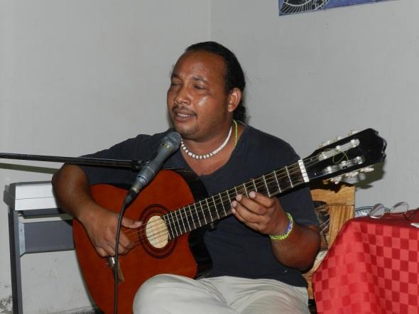 Reynaldo Rodríguez, integrante de la agrupación Hierro y Cristal