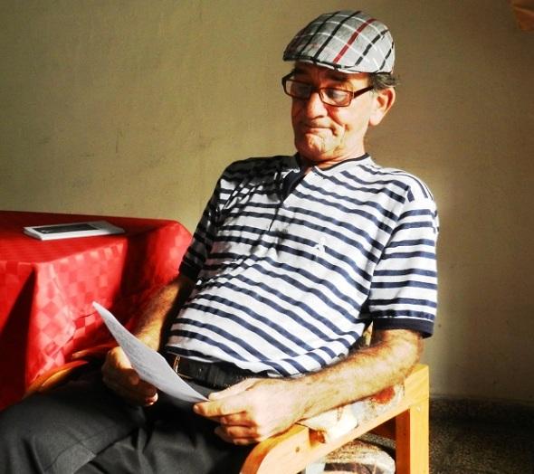 Sergio Morales Vera, presidente  cpmite p´rovincial de la UNEAC en Camagüey