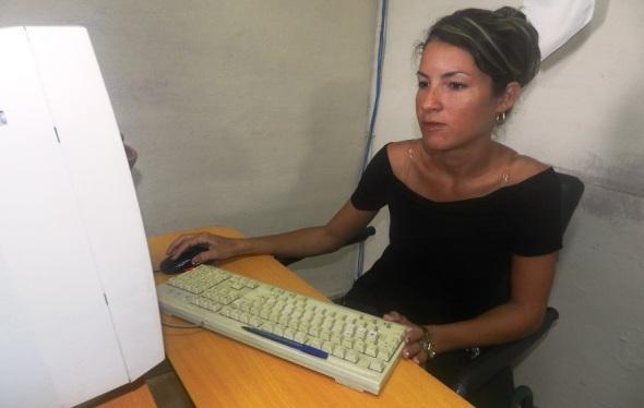 Yadira Núñez Figueredo de Radio Camagüey también se form´p en la vocacional
