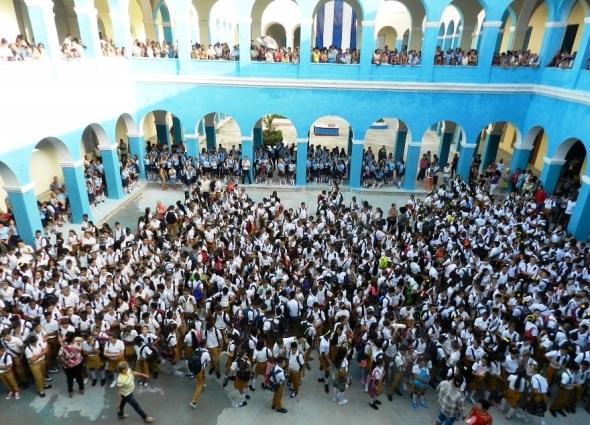 Inició el curso escolar en los 176 centros escolares del municipio de Camagüey