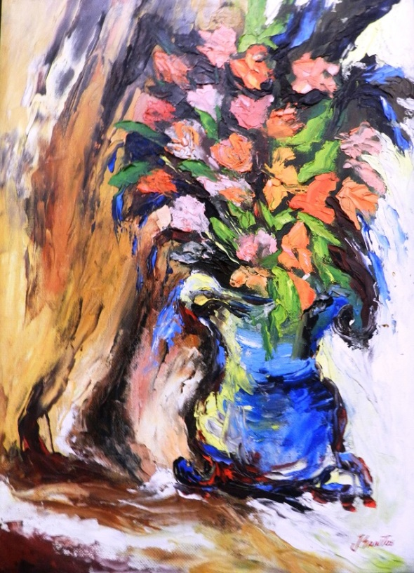 titulo-flores-ii-titulo-autor-jorge-santos-diaz-tecnica-oleo-carton-dimensiones-68-x-45-cm