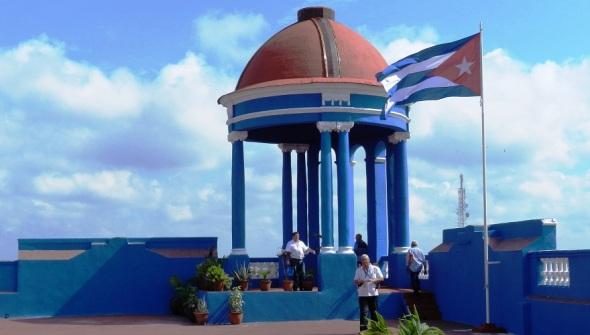 bandera-cubana-en-la-cupula