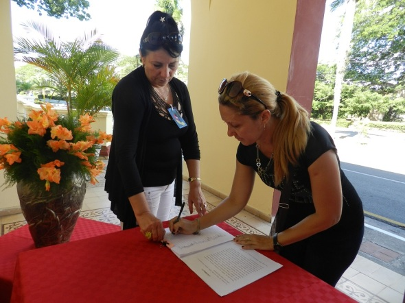 firma-del-juramento-del-concepto-de-revolucion