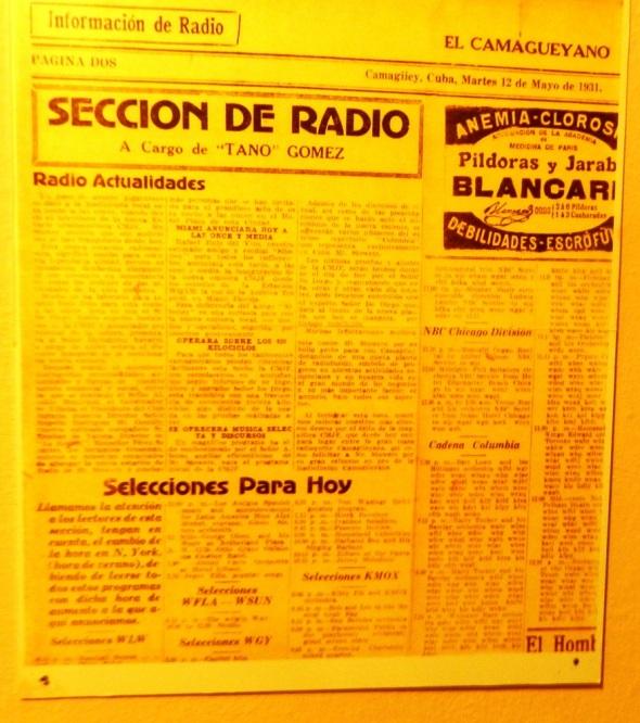 el-periodico-el-camagueyano-anunciaba-la-inauguracion-de-la-emisora-7az