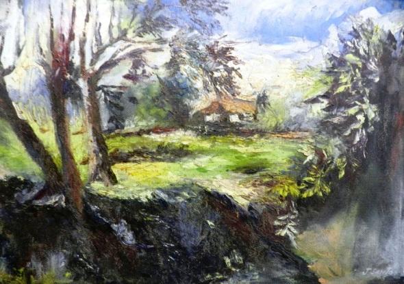 titulo-paisaje-rural-autor-jorge-santos-diaz-tecnica-oleo-carton