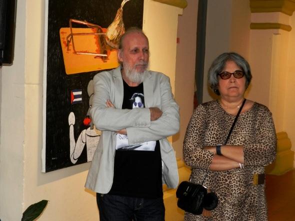 Joel Jover e Ileana Sánchez