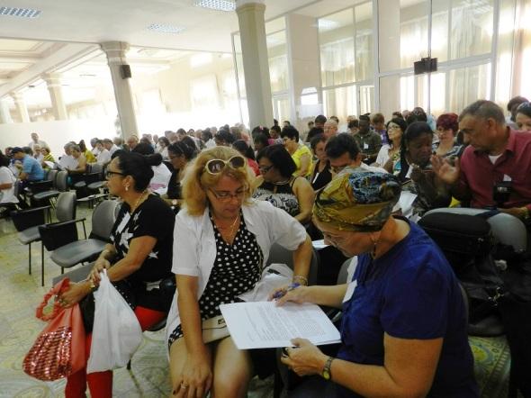 representacionesde-colectivos-laborales-en-la-primera-conferencia-municipal-del-sindicato-de-trabajadores-de-la-salud