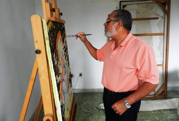 Elpidio prepara nuevos proyectos pictóricos