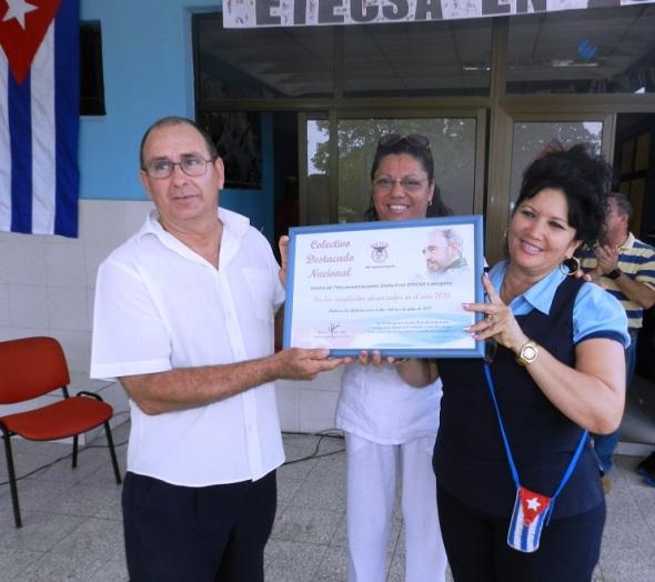 Certificado de Colectivo Destacado Nacional