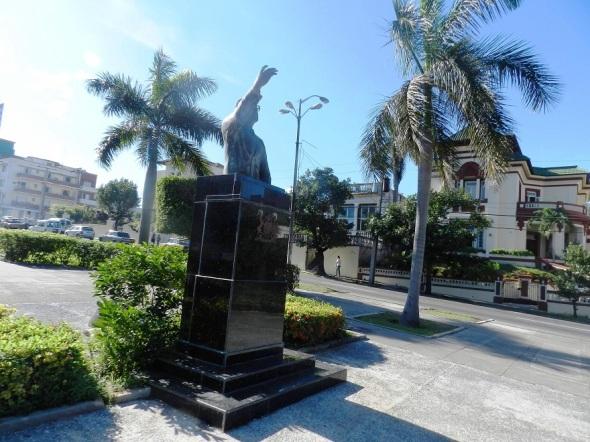Monumento a Salvador Allende. Foto Lázaro David Najarro Pujol