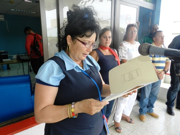 Sandra Salazar Cordero, secretaria general de la sección sindical