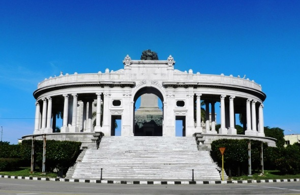Vista Monumento a José Miguel Gómez.Foto Lázaro David Najarro Pujol