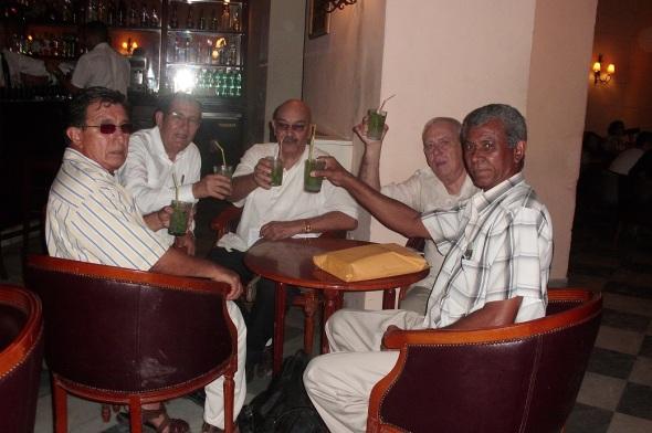 Antonio Moltó Martorell compartiendo con periodistas y comunicadores cubanos y latinoamericanos en III Diplomado Internacional Medios para Comunicar El Patrimonio. La Habana del 20 de mayo al 7 de junio 2013.