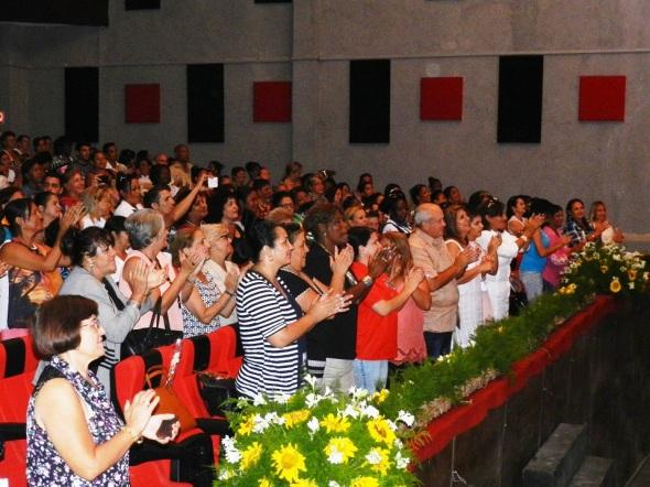 Asistierona la Gala las principales autoridades de la provincia