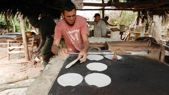 Fabricación de Casabe