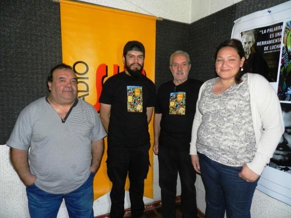 Colectivo programa variado La Feria de la emisora Radio Sur 90.1 FM en la ciudad argentina de Córdoba.