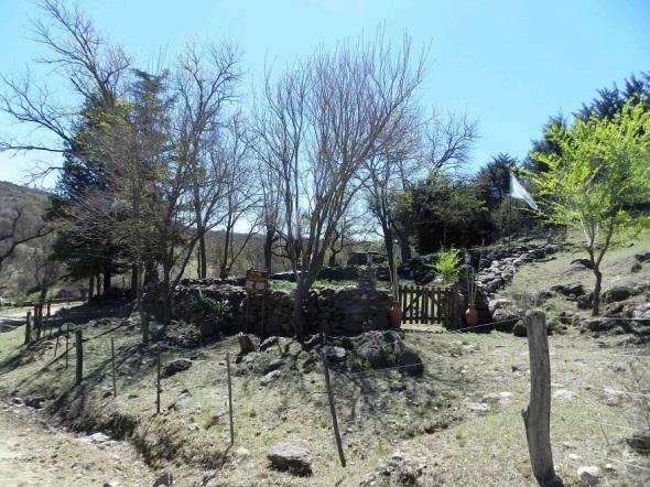 Corral de piedras de doscientos años de vida